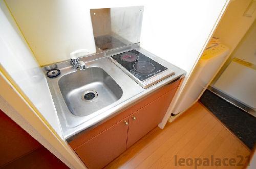 レオパレスコレマサ 102号室のキッチン