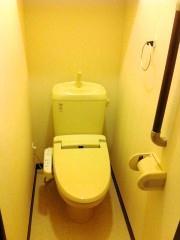 レオパレスステラ 203号室のトイレ