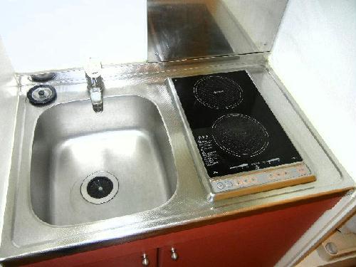 レオパレスTIME 101号室のキッチン