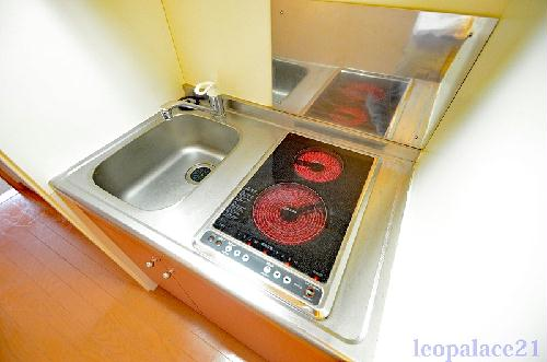 レオパレスTIME 105号室の風呂