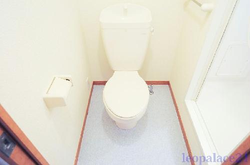 レオパレスTIME 105号室のトイレ