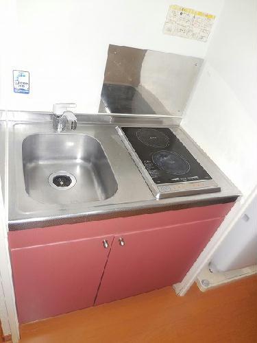 レオパレス幸良 205号室のキッチン