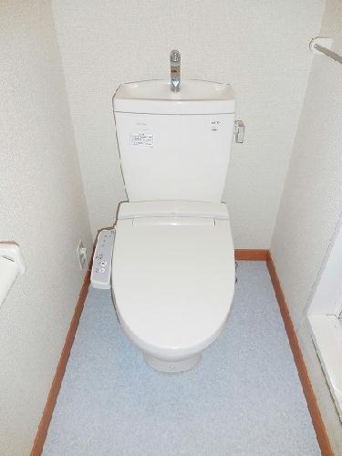レオパレス幸良 205号室のトイレ