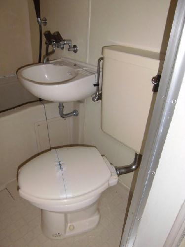レオパレス赤羽第5 201号室のトイレ