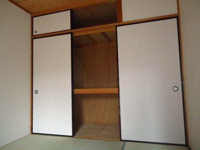 メゾン城土 A101号室の収納