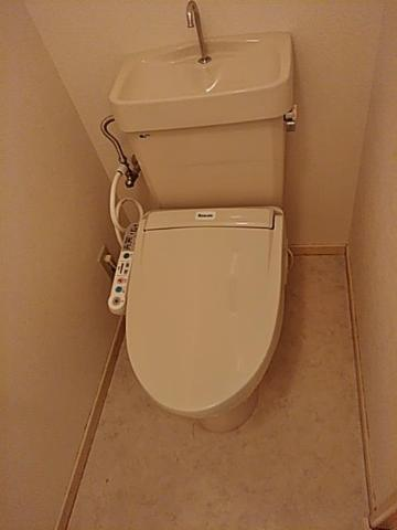 メゾン城土 A101号室のトイレ