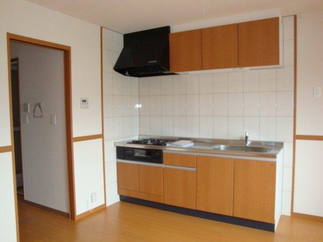 グラスフルールA 102号室のキッチン