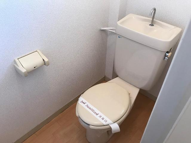 りばてぃはうす98 00205号室のトイレ