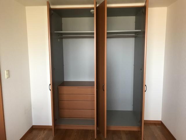 コンフォース・ステージM 302号室の収納