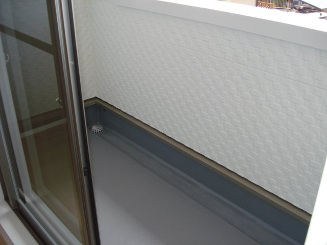 ジェミニ 203号室のバルコニー