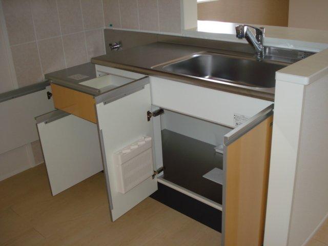 ジェミニ 203号室のキッチン