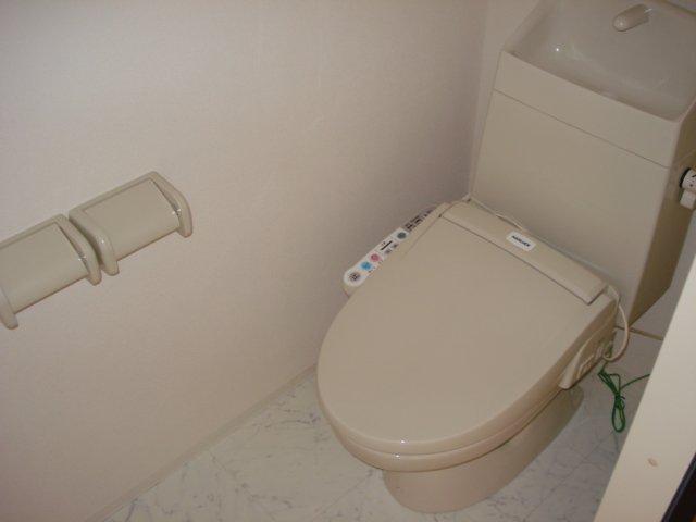 ジェミニ 203号室のトイレ