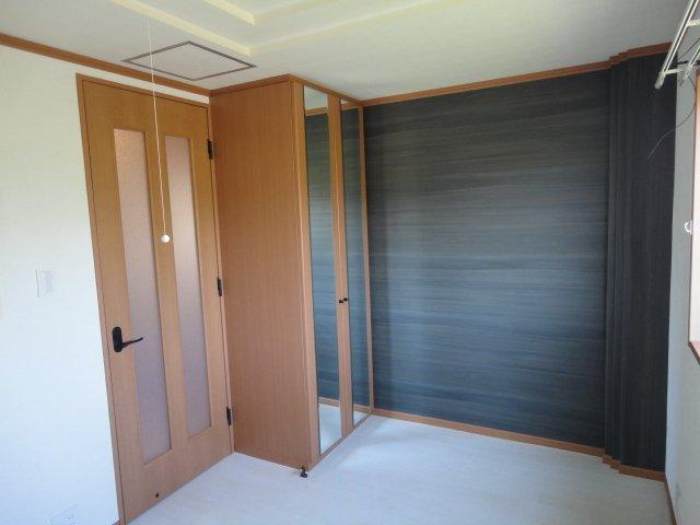 リバーサイドJS 106号室のベッドルーム