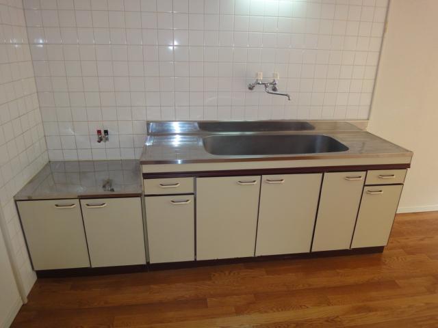ワイズハウス星の宮 00202号室のキッチン