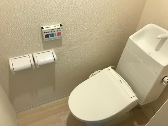 グラン フェリシア Ⅱ 106号室のトイレ