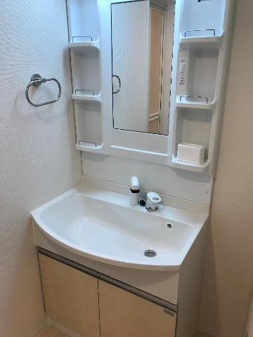 グラン フェリシア Ⅱ 106号室の洗面所