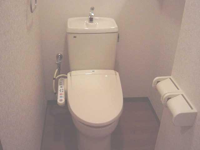 サンライズ・ガーデン 202号室のトイレ