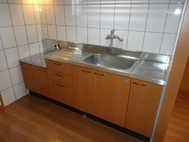 メルヴェール 205号室のキッチン