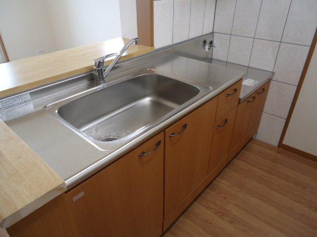 ボンヌール 00205号室のキッチン