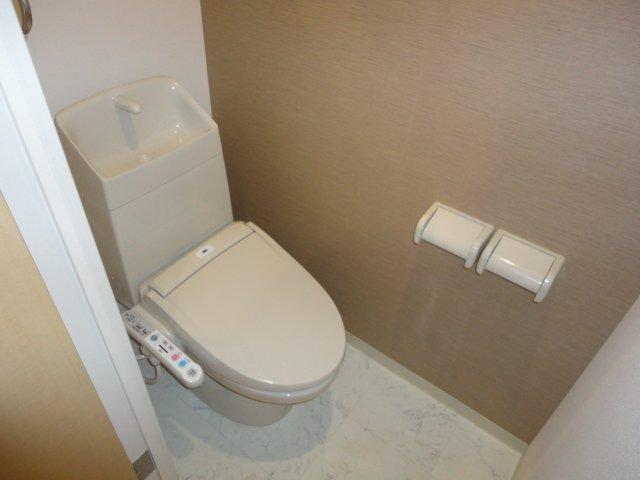 パンプキンフィールド 107号室のトイレ