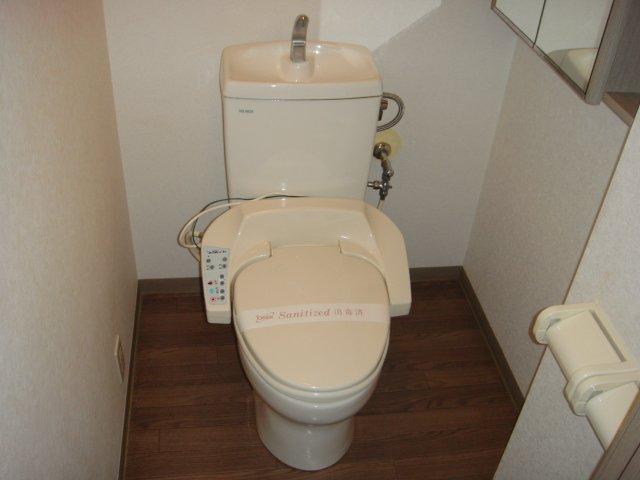 メルキュレー 00103号室のトイレ
