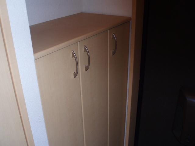 パルティールY 00102号室のエントランス