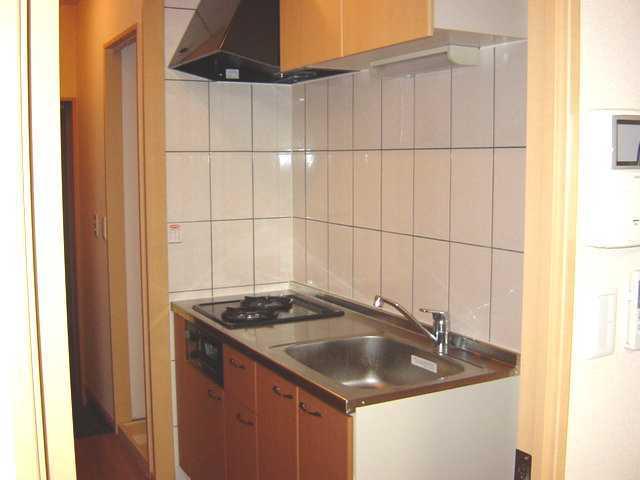 パルティールY 00102号室のキッチン