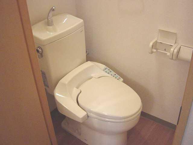 パルティールY 00102号室のトイレ