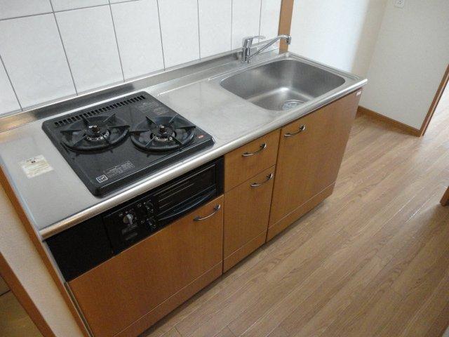 ベル・グラース 00202号室のキッチン