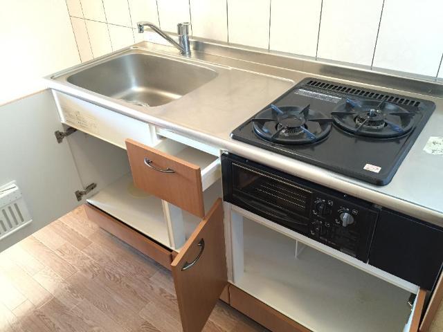 エバーエデンB 00203号室のキッチン
