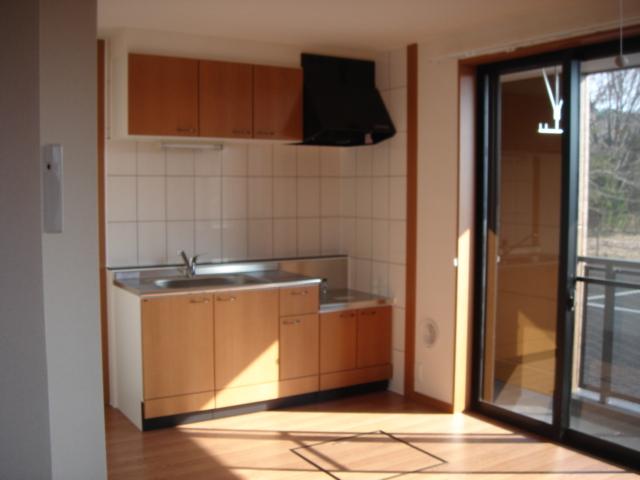 グランチェスタB 00103号室のリビング