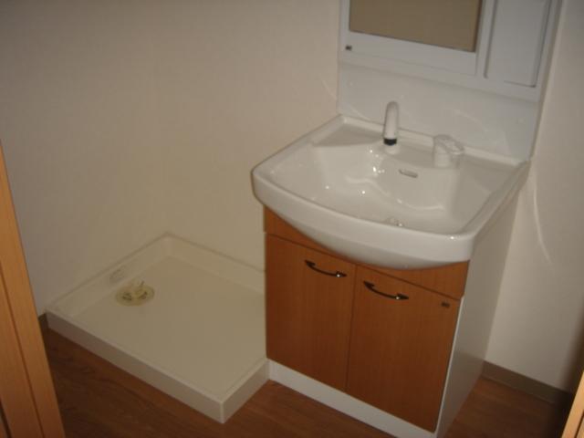 グランチェスタB 00103号室の洗面所