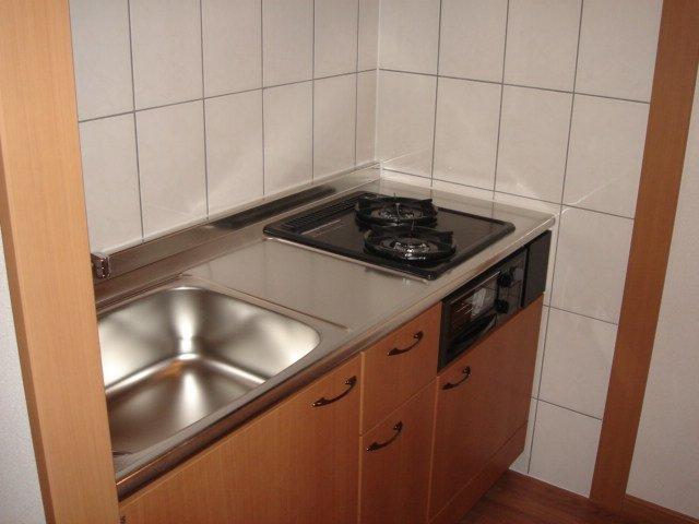 グリルス Ⅰ 203号室のキッチン
