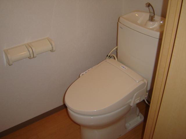 グリーンガーデン 101号室のトイレ