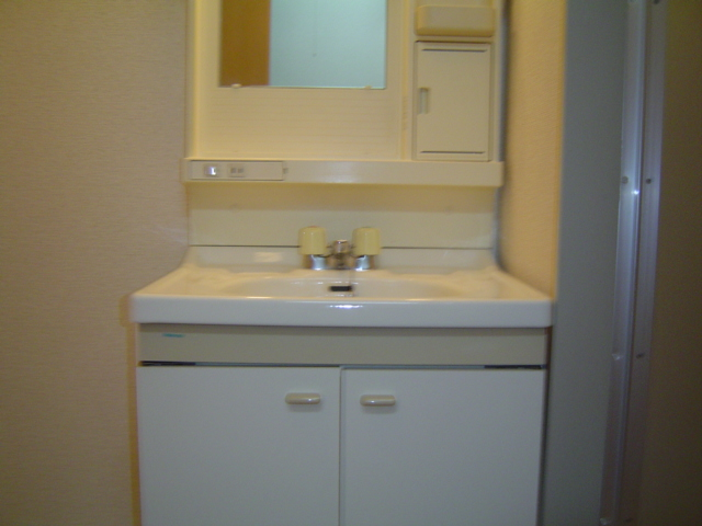 ハッピーヴィレッジ 203号室の洗面所