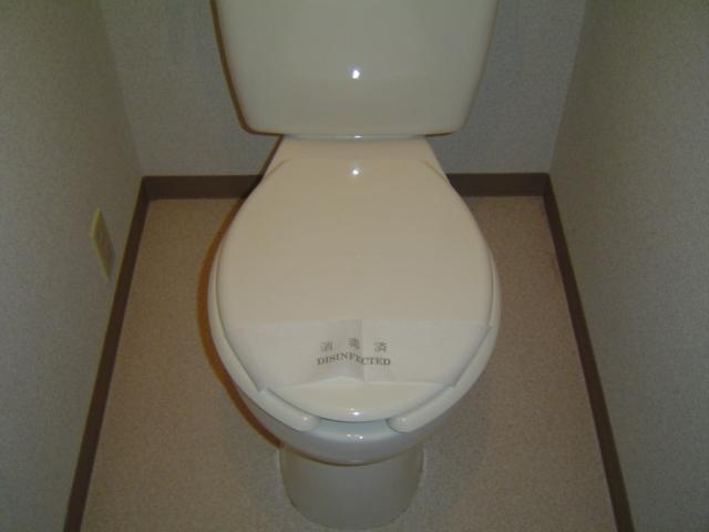 ハッピーヴィレッジ 203号室のトイレ