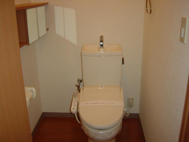 アメニティB 105号室のトイレ