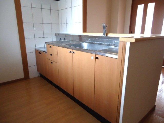 ライブリーコート 201号室のキッチン