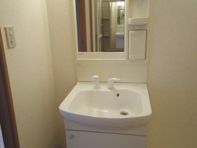 ライブリーコート 201号室の洗面所