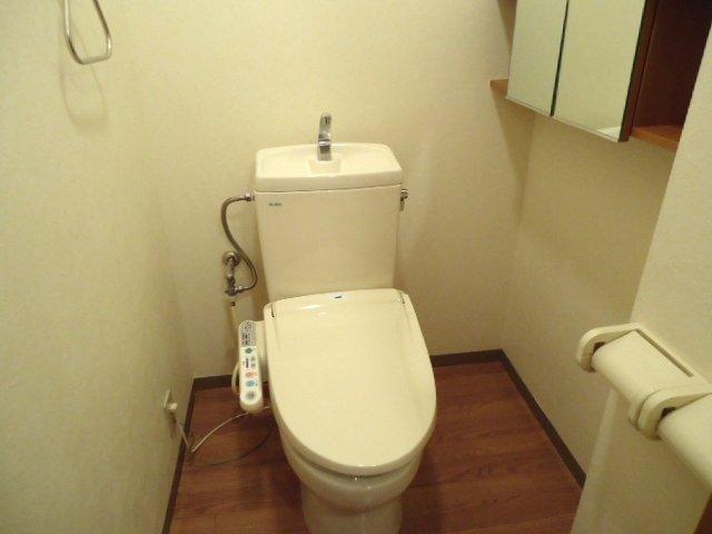 ライブリーコート 201号室のトイレ