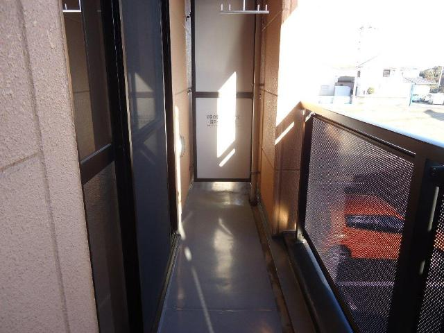 アランチーノ 205号室のバルコニー