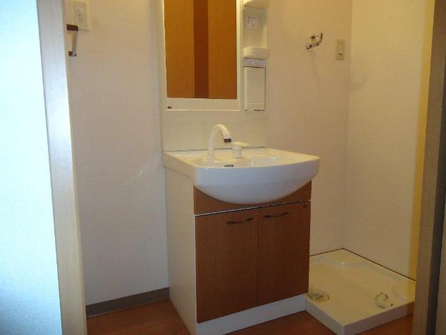 アランチーノ 205号室の洗面所