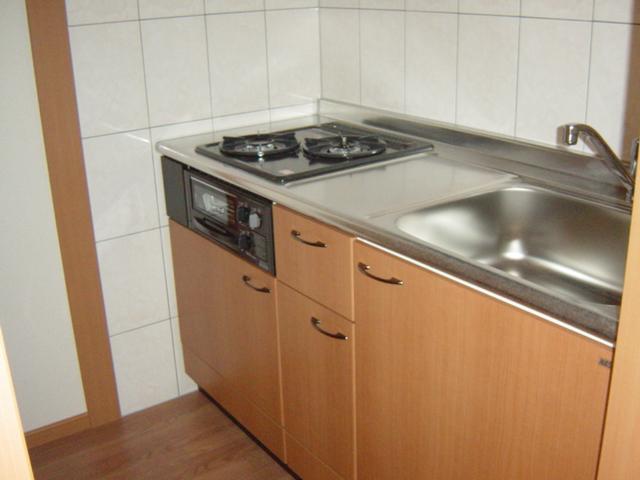 ミルキーウェイ 106号室のキッチン