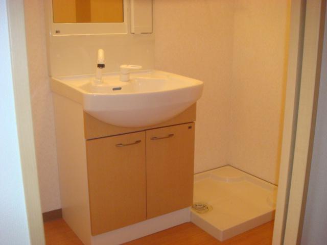 カテリーナ 203号室の洗面所