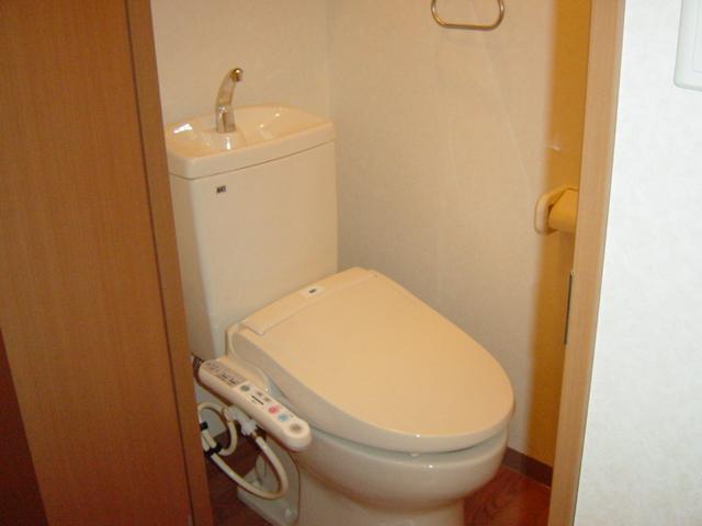 ハッピーオウル 102号室のトイレ