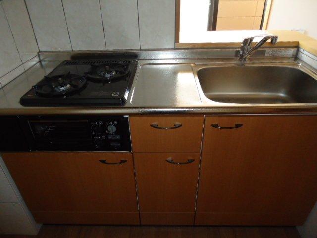 グランシャリオ 00202号室のキッチン