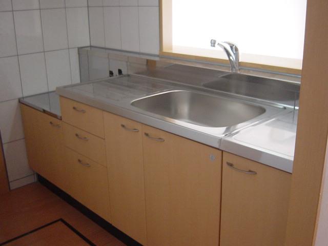 ソレイユ シャトー 302号室のキッチン