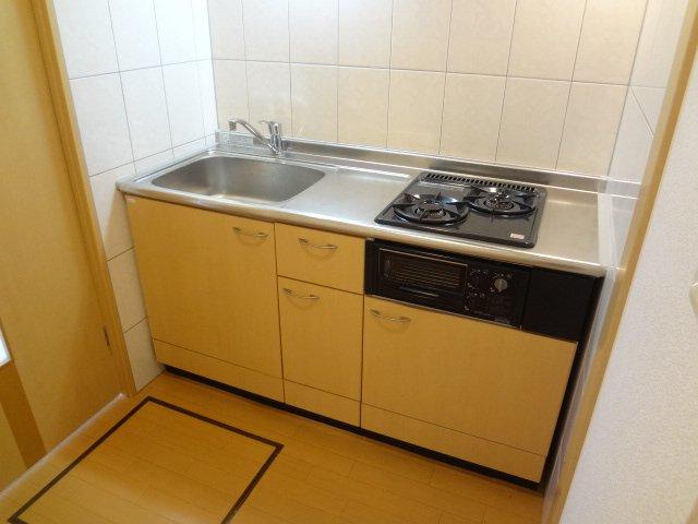 モンテ・アンヴェリーノ 101号室のキッチン