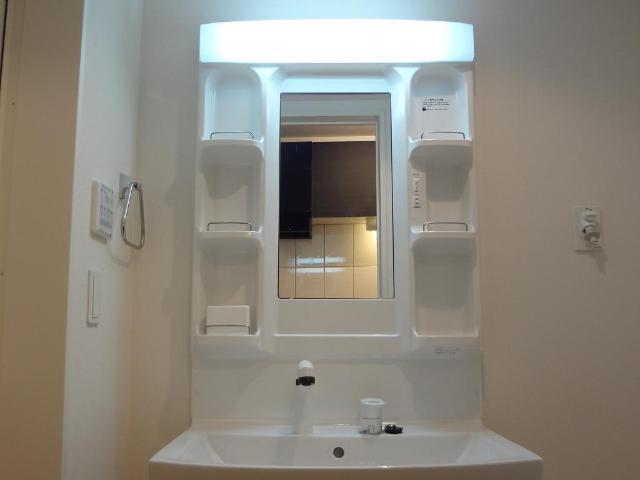 Feliz Reve 101号室の洗面所