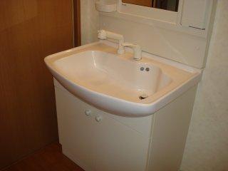 ジュエル壱番館 201号室の洗面所